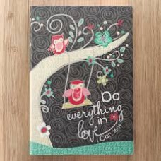 Do Everything in Love - Christian Art Journal - Flexcover